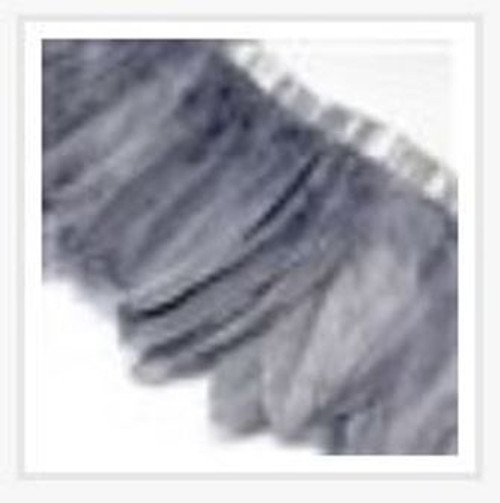 Fashion Goose Feather, Costume Accessory, Gray, 100-180mm x 38-62mm; about 2m/bag