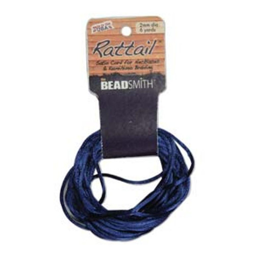 Rattail 1mm Thick - 6 Yards - Royal Blue