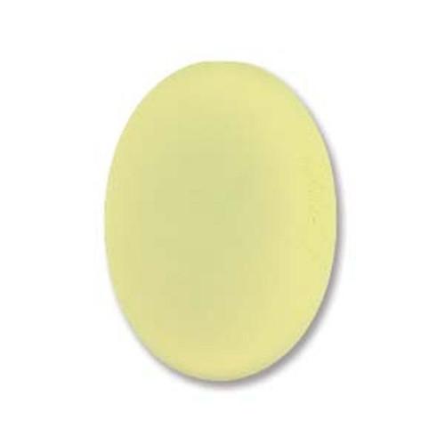 1 x Lunasoft Cabochon Oval 18.5mm x 13.5mm Citron