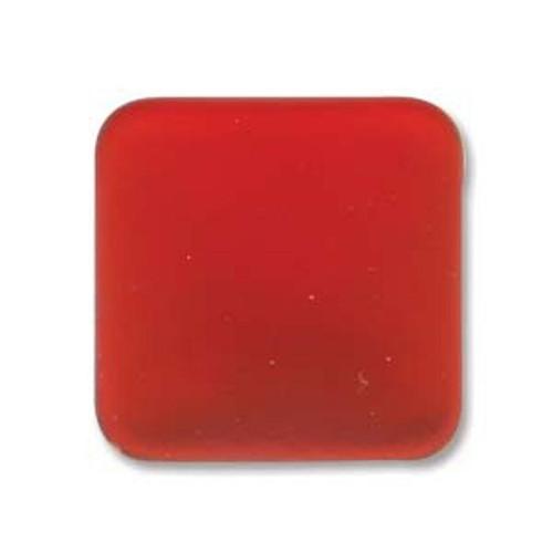 1 x Lunasoft Cabochon Square 17mm Cherry