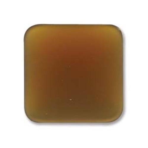 1 x Lunasoft Cabochon Square 17mm Copper