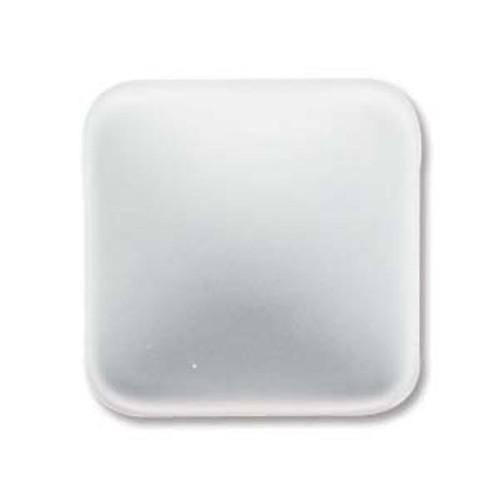 1 x Lunasoft Cabochon Square 17mm Pearl