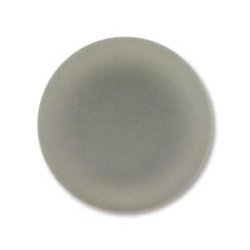 1 x Lunasoft Cabochon Round 14mm Gray