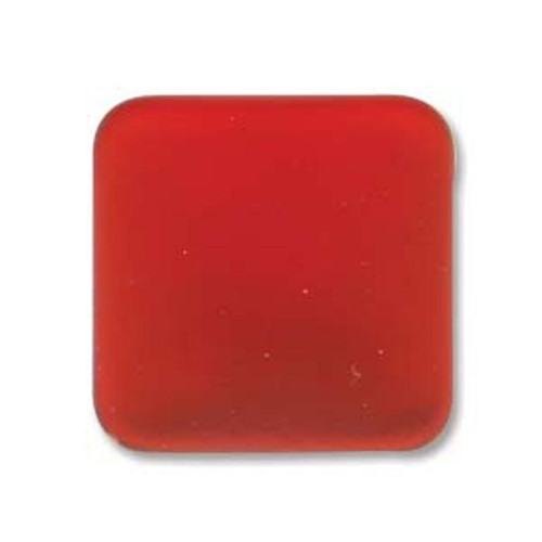 1 x Lunasoft Cabochon Square 22mm Cherry