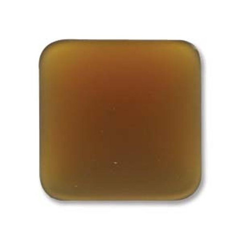 1 x Lunasoft Cabochon Square 22mm Copper