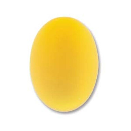 1 x Lunasoft Cabochon Oval 25x18mm Lemon
