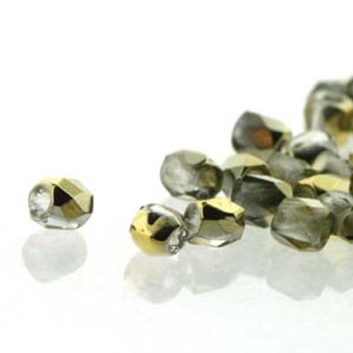 FPR0200030-26441 - TRUE 2 - Crystal Amber - 100pcs - Czech Fire Polished beads