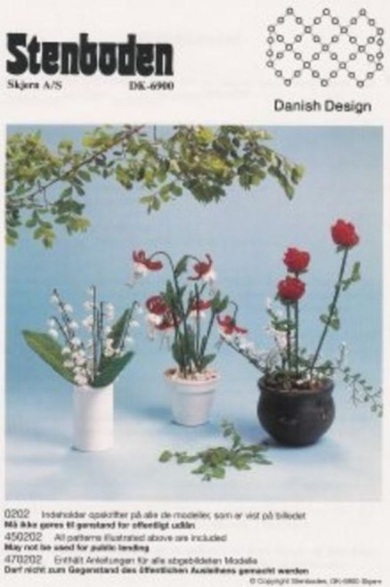 Stenboden's Pattern Book 200202 flowers (English Instructions)