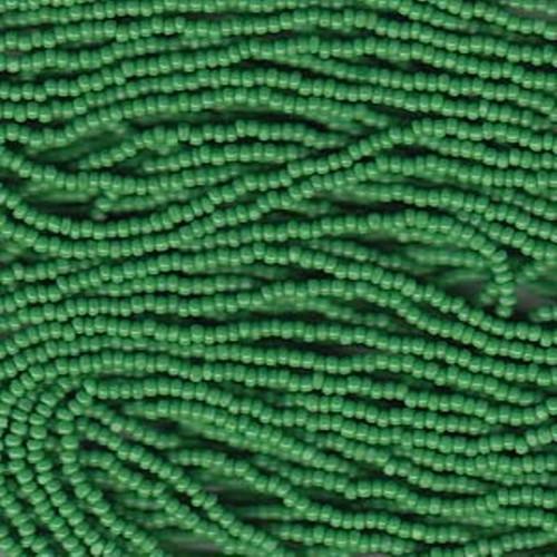 SB13-53230 Green Size #13 Half Hank Charlottes (bulk 8 hanks)