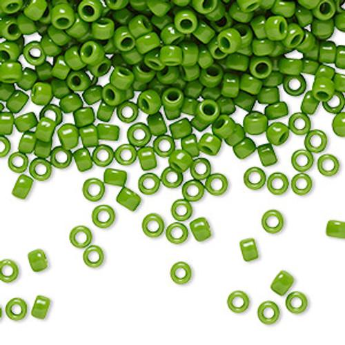 TR-08-47 - 8/0 - TOHO BEADS® - Opaque Mint Green - 7.5gm Vial - Glass Round Seed Beads