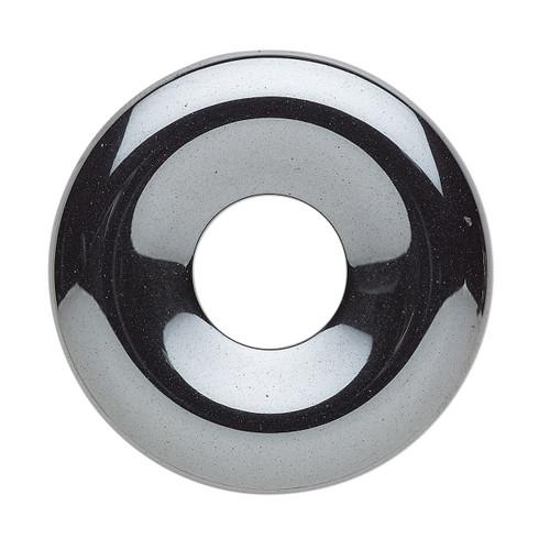 Focal, Hemalyke™ (man-made), 35mm round donut. Sold per pkg of 2.
