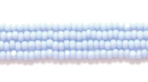 33000 - 13/0 - Czech - Opaque Pale Blue - Hank (approx 3000 beads) Glass  Charlotte True Cut Seed Bead