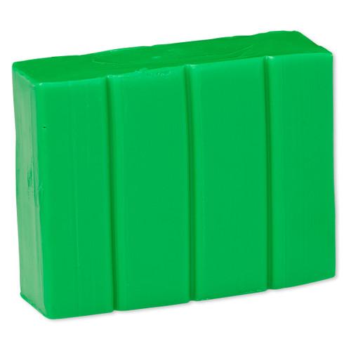 Polymer clay, Premo! Sculpey®, green. Sold per 2-ounce bar.