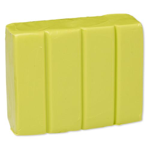 Polymer clay, Premo! Sculpey®, wasabi green. Sold per 2-ounce bar.