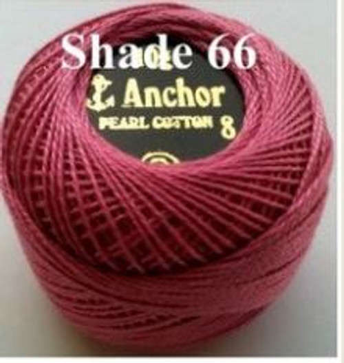 Anchor Pearl Crochet Cotton Size 8 - 10gm Ball - (66)