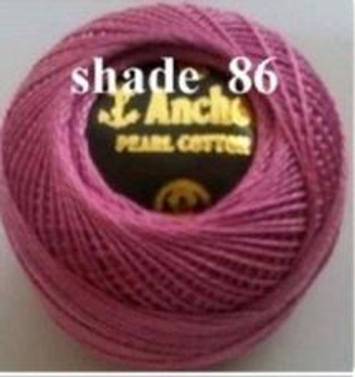 Anchor Pearl Crochet Cotton Size 8 - 10gm Ball - (86)