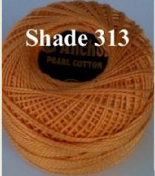 Anchor Pearl Crochet Cotton Size 8 - 10gm Ball - (313)