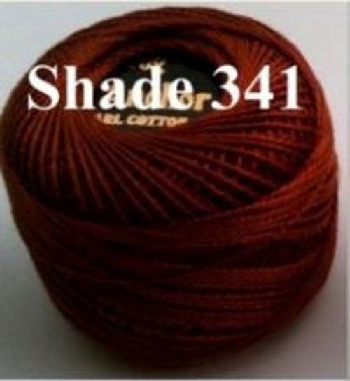 Anchor Pearl Crochet Cotton Size 8 - 10gm Ball - (341)