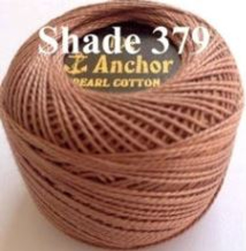 Anchor Pearl Crochet Cotton Size 8 - 10gm Ball - (379)