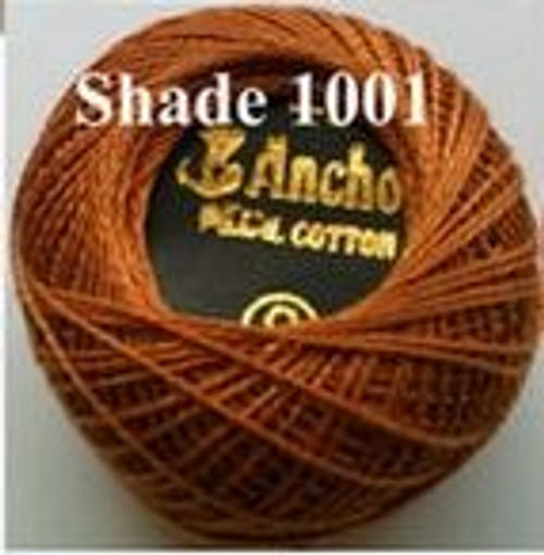 Anchor Pearl Crochet Cotton Size 8 - 10gm Ball - (1001)