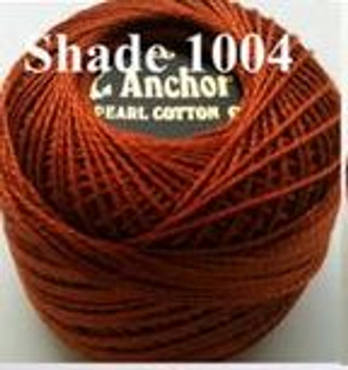 Anchor Pearl Crochet Cotton Size 8 - 10gm Ball - (1004)