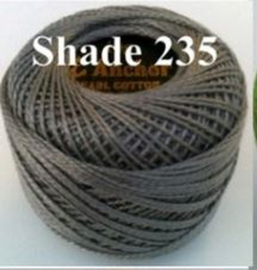 Anchor Pearl Crochet Cotton Size 8 - 10gm Ball - (235)