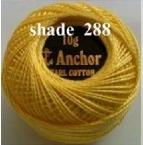 Anchor Pearl Crochet Cotton Size 8 - 10gm Ball - (288)