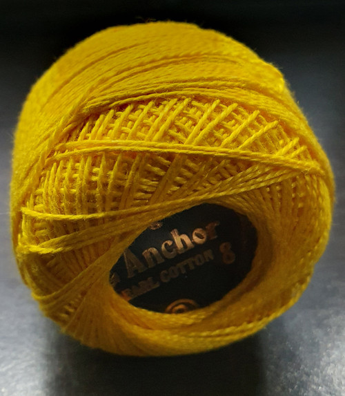 Anchor Pearl Crochet Cotton Size 8 - 10gm Ball - (298)