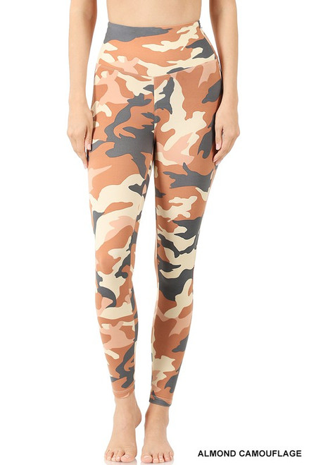 Almond Camo Leggings