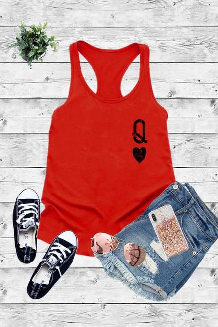 Queen of Hearts Tank