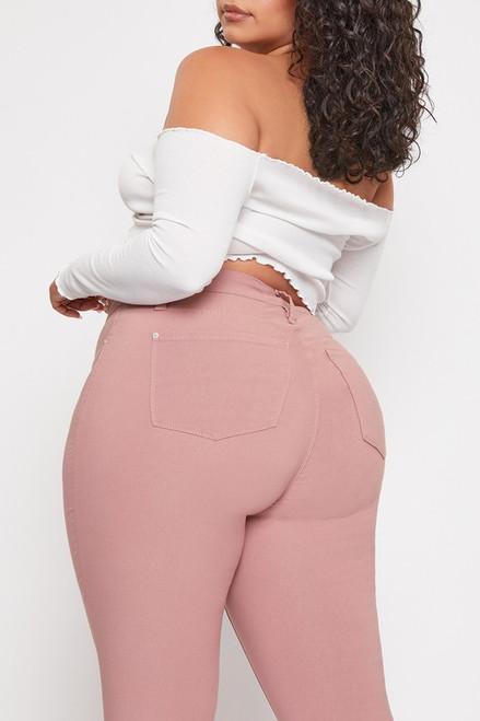 Curvy Rosette Skinny Jeans