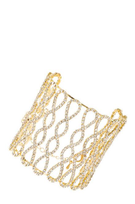 Rhinestone Cuff Bracelets