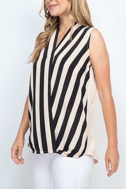 The Chic Stripe Blouse