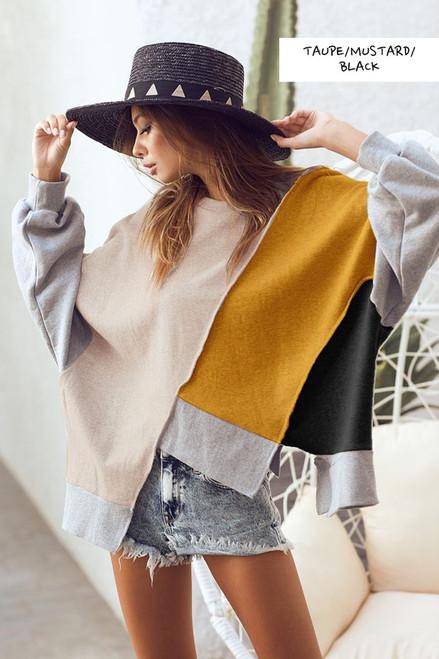GiGi Colorblock Sweater
