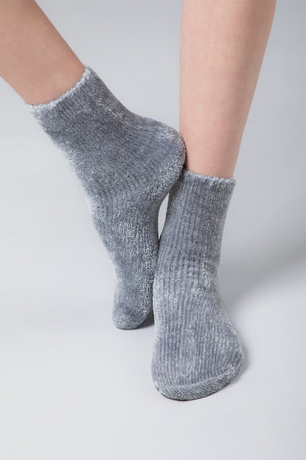 Lux Chenille Socks