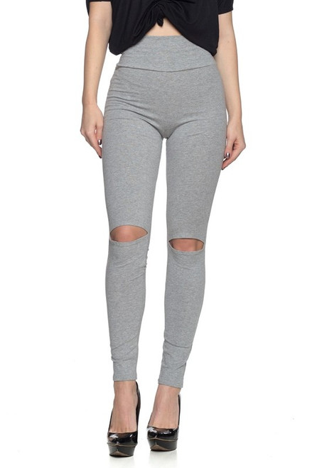 Stanky Leggings - Heather Gray