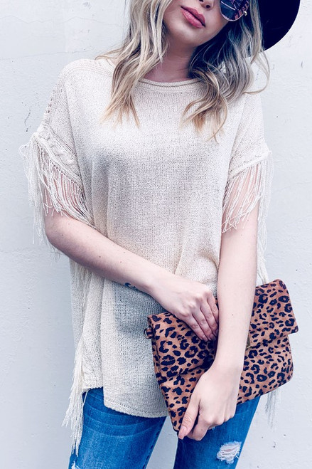 Boho Sweater Shirt