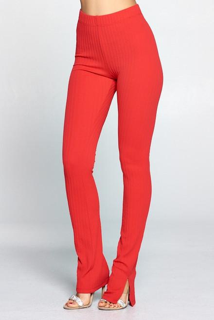 Split Hem Pants