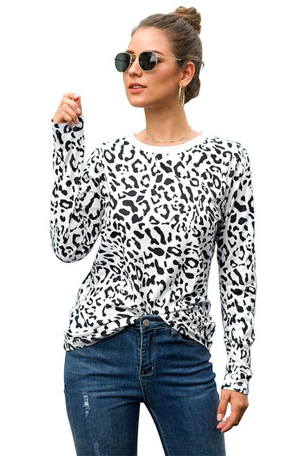 White Leopard T-Shirt