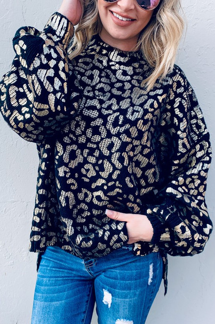 Kiss of Gold Sweater