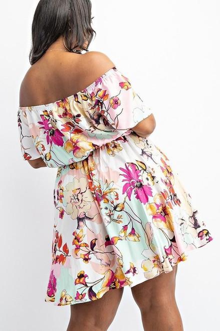 The Sabrina Mini Flare Dress