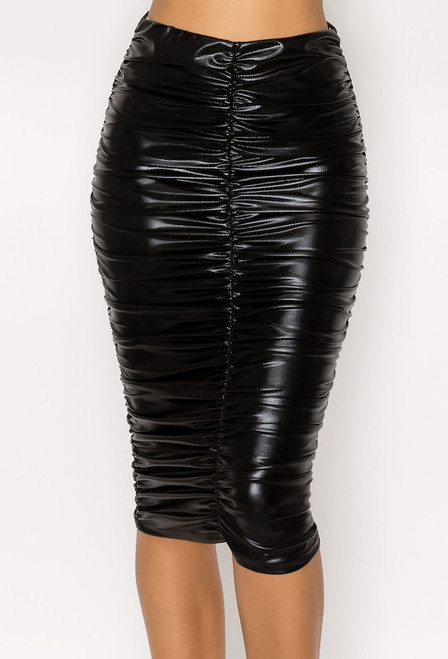 Leather Leah Midi