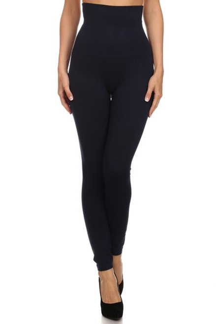 High-Waist Compression Leggings
