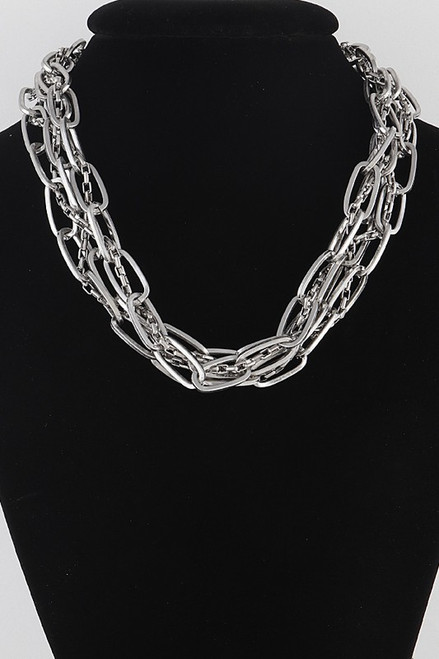 Multi-Stand Chain Necklace