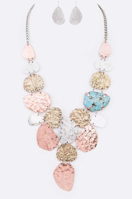 Charlotte Earrings & Necklace Set