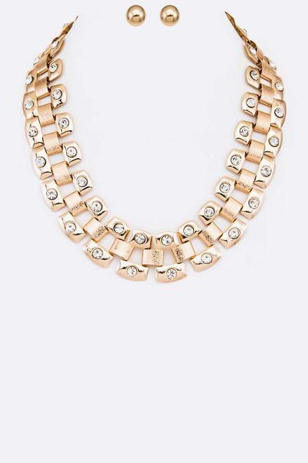 Layla Earrings & Necklace Set