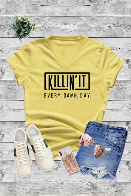"Curvy ""Killin' It"" Tee"