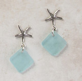 SEAGLASS POST EARRING SALE! 10% OFF SELECT STYLES!
