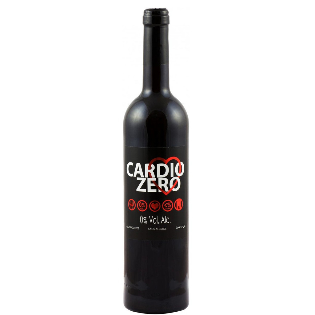 Elivo Cardio Zero Red Non-Alcoholic Red Wine 750 mL