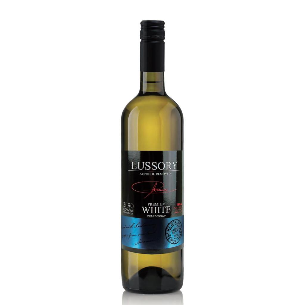 Lussory Premium Chardonnay Non-Alcoholic White Wine 750 mL